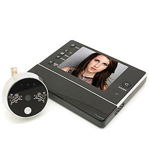 ieftine Becuri De Mașină LED-3.5 inch inteligente vizuale pisica ochi uscat bateria de putere video camera video electronice doorbell nu deranja funcție