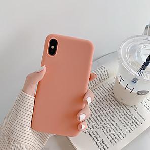 ieftine Protectoare Ecran de iPhone SE/5s/5c/5-Maska Pentru Apple iPhone XS / iPhone XR / iPhone XS Max Anti Praf / Ultra subțire Capac Spate Mată / Desene Animate TPU