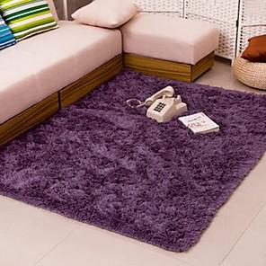 ieftine Covorașe-Dongguan hoa1070fu7p1 covor pufos 40 * 60cm gri violet
