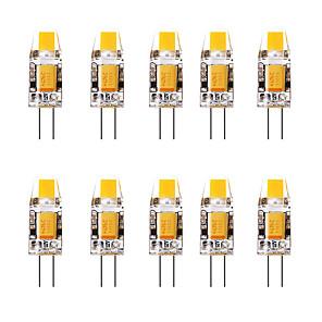 ieftine Becuri LED Bi-pin-10pcs 1.5 W Becuri LED Bi-pin 3000 lm G4 1 LED-uri de margele Alb Cald Alb 12 V