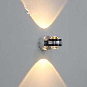ieftine Abajure Perete-Cristal / Oglindă LED / Modern contemporan Becuri de perete Sufragerie / Interior Metal Lumina de perete IP44 Generic 3 W