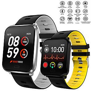 povoljno Pametni satovi-Smart Satovi Šiljci za meso Moderna Sportski Silikon 30 m Vodootpornost Heart Rate Monitor Bluetooth Šiljci za meso Ležerne prilike Outdoor - Crn Bijela Crvena