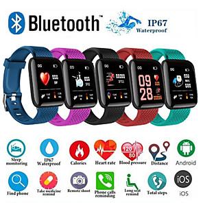 ieftine Smart Wristbands-d13 smartwatch bt fitness tracker suport notificare / presiune arterială măsurare sport ceas inteligent pentru telefoane samsung / iphone / android