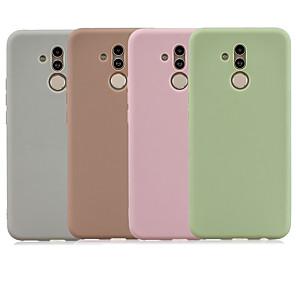 povoljno Zaštitne folije za Huawei-Θήκη Za Huawei Mate 10 lite / Huawei Mate 20 lite Mutno Stražnja maska Jednobojni TPU