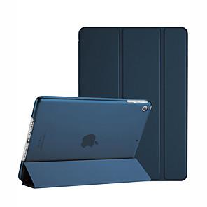 abordables Pochettes / Coques d'iPad-Coque Pour Apple iPad Mini 3/2/1 Antichoc / Etanche à la Poussière / Mise en veille automatique Coque Intégrale Couleur Pleine Dur faux cuir