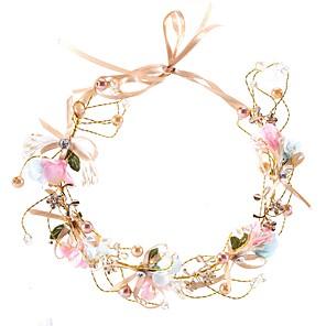 ieftine Piepteni-Pentru femei Pentru Petrecere Petrecere Nuntă Imitație de Perle Material Textil Aliaj Auriu 1 buc