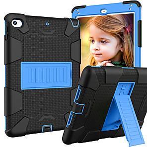 ieftine USB-uri-Maska Pentru Apple iPad Mini 5 / iPad Mini 4 Cu Stand / Sigure pentru copii Case Capac Spate armură silicagel