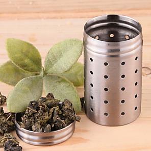 ieftine Ustensile Ceai-Teak Ceai Rotund 1 buc Strecurătoare Ceai