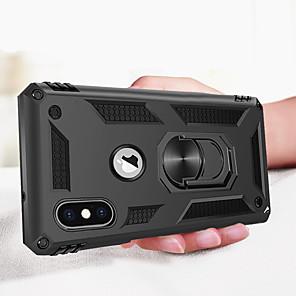 ieftine Carcase iPhone-de lux armura moale caz rezistent la șoc pe iphone xs max iphone xs iphone x iphone 8 plus iphone 8 iphone 7 plus iphone 7 iphone 6 plus iphone 6 silicon car holder inel caz