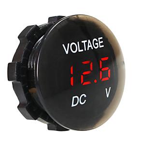 ieftine Accesorii-Dc 12v-24v panou digital rezistent la apă și la praf voltmetru afișaj digital pentru autocamion motocicletă suv boat atv refit accessorii