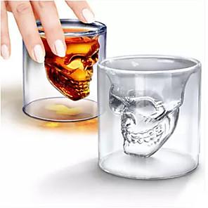 ieftine Spoturi LED-Drinkware Pahare Novelty / Sticlă sticlă Mini Halloween / Casul / Zilnic