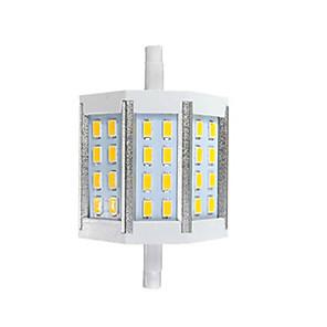 ieftine LED-uri-1set 7 W Becuri LED Corn 300 lm R7S T 24 LED-uri de margele SMD 5730 Model nou Alb Cald Alb 85-265 V