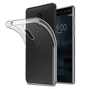 ieftine Ciocan de lipit & Accesorii-Maska Pentru Nokia Nokia 7 / Nokia 6 Anti Praf Capac Spate Mată Moale TPU