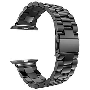 ieftine Becuri LED Glob-bandă de ceasuri pentru ceasuri de serie seria 4/3/2/1 curea de bijuterii de mere cu curea de încheietura din oțel inoxidabil