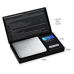 ieftine Testere & Detectoare-scară de înaltă precizie bijuterii scară electronică scară 0.01g mini electronice scară scară scară portabile de buzunar 0.01g - 200g / 0.01g