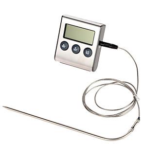 ieftine Organizatoare Birou-ts-bn50 cuptor digital termometru bucătărie gătire alimente carne bbq sonda termometru cu temporizator de apă temperatura lapte instrument de copt