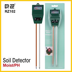 ieftine Testere & Detectoare-rz umiditate sol umiditate higrometru de măsurare mini ph metru sol umiditate monitor gradinarit de plante agricultura lumina soarelui tester