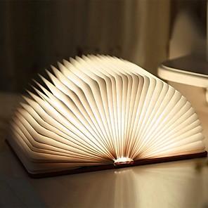 ieftine Alimentatoare-Carte Lampă de noapte de masă Reîncărcabil / Pliabil / Magnetic Built-in baterie Li-Powered 1 buc