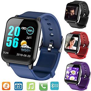 povoljno Ženski satovi-Smart Satovi Šiljci za meso Moderna Sportski Silikon 30 m Vodootpornost Heart Rate Monitor Bluetooth Šiljci za meso Ležerne prilike Outdoor - Crn purpurna boja Plava