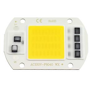ieftine LED-uri-Zdm 1 buc led cip cob 20w 30w 50w ac220v alb cald / rece alb motor cu motor integrat inteligent ic driver