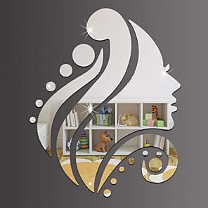 ieftine Acțibilde de Decorațiuni-Vacanță Perete Postituri Acțibilduri de Oglindă Autocolante de Perete Decorative, Teracotă Pagina de decorare de perete Decal Perete Decor 1 buc / Re-poziționabil