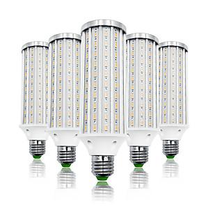povoljno Zaštitne folije za Samsung-LOENDE 5pcs 40 W LED klipaste žarulje 4000 lm E26 / E27 T 140 LED zrnca SMD 5730 Toplo bijelo Bijela 85-265 V