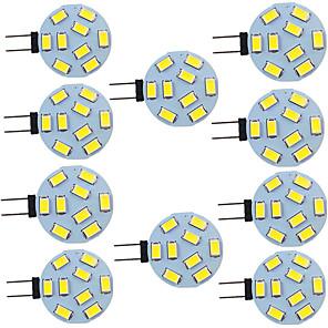 ieftine Car Signal Lights-10pcs 2 W Becuri LED Bi-pin 280 lm G4 9 LED-uri de margele SMD 5730 9-30 V