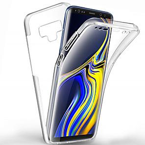 ieftine Carcase / Huse Galaxy Note Series-Carcasă completă de 360 de grade pentru samsung galaxy note 10 plus nota 10 nota 9 nota 8 carcasă PC transparent silicon subțire gel tpu moale