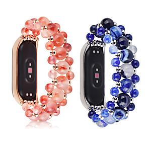 povoljno Waljkie talky uređaji-kristalne perle agate lančani remen za proso 3 4 pametni narukvicu ručni rad mi band narukvica zamjenski dio