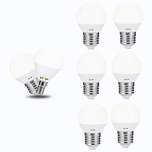 ieftine Baze de Lampe-EXUP® 6pcs 6 W Bulb LED Glob 540 lm E26 / E27 P45 12 LED-uri de margele SMD 2835 Creative Petrecere Decorativ Alb Cald Alb Rece 220-240 V 110-130 V