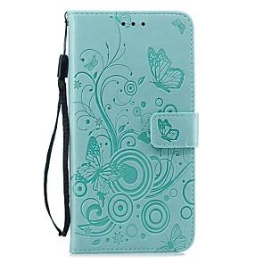 ieftine Carcase iPhone-carcasa pentru apple iphone xs / iphone xr / iphone xs portofel maxim / suport pentru card / cutii de corp plin anti-șoc colorate solide / fluture pu piele pentru iphone x / 7/8 plus / 6 / 6s plus / 5