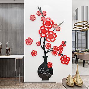 povoljno Zidni ukrasi-Naljepnica zidne akrilne zidne vaze za cvijeće