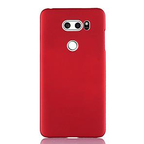 ieftine Carcase / Huse de LG-Maska Pentru LG LG V40 / LG V50 / LG V30 Ultra subțire Capac Spate Mată TPU