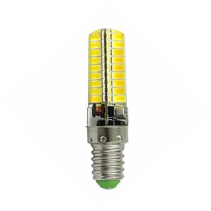 ieftine USB-uri-1 buc 3 W Becuri LED Corn 170-200 lm E14 72 LED-uri de margele SMD 5730 Model nou Decorativ Încântător Alb Cald Alb Rece 12-24 V