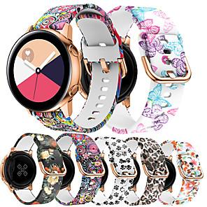 Недорогие Чехлы и кейсы для Galaxy S3-20 мм силиконовая лента для часов huawei 2 huawei sport band цветочная печать