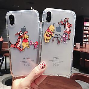 povoljno iPhone maske-etui za jabuke iphone xs max / iphone x mekani silikonski otporan na jabuke zaštitna školjka crtić tpu uzorak torbica vrećica cvijet meka plastika za iphone 6 / iphone 6s plus / iphone 8