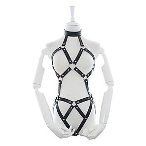 ieftine Costume Sexy-Pentru femei Costume film & teme TV Adulți Sexy Chest Harness / Imitație de Piele