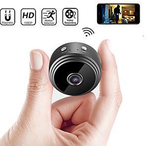 povoljno Sigurnosni senzori-najnoviji a9 wifi 1080p full hd noćno viđenje bežična ip kamera mini kamera dv wifi mikro mala kamera kamera videorekorder vanjski dom sigurnosni nadzor daljinski monitor telefon os android app