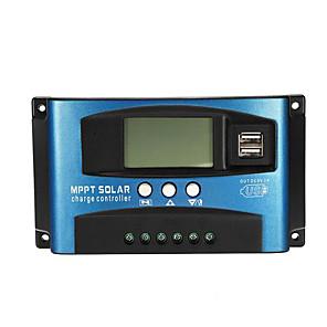 ieftine Invertor de Curent-Controler 40a mppt solar lcd solar loader controller exactitate dual usb panel solar regulator - 40a