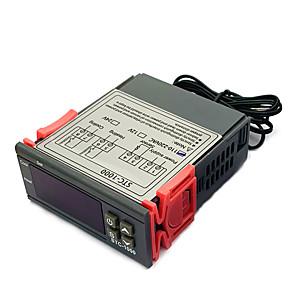 povoljno Sigurnosni senzori-digitalni regulator temperature termostat termoregulator inkubator relej led grijanje hlađenje stc-1000 stc 1000 12v 24v 220v