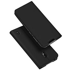povoljno Maske/futrole za Nokiju-Θήκη Za Nokia Nokia 2.2 Utor za kartice / sa stalkom / Zaokret Korice Jednobojni PU koža / TPU