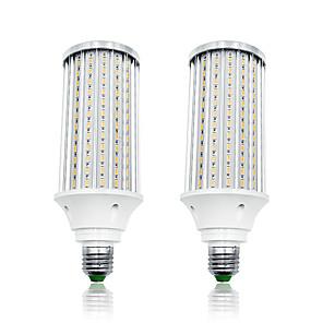 ieftine Proiectoare LED-loende 2 pachet 80w leduri de porumb 8000 lm e27 t 216 led beads smd 5730 alb cald alb 85-265 v