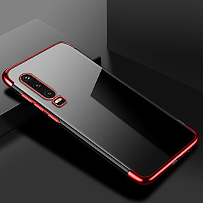 hesapli Huawei İçin Kılıflar / Kapaklar-Kaplama temizle silikon kılıf için huawei p30 pro p30 lite p30 kılıf şeffaf yumuşak tpu kapak için huawei p20 pro p20 lite p20 cep telefonu çantası