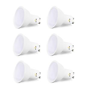 ieftine Spoturi LED-EXUP® 6pcs 6 W Becuri Halogen Spoturi LED 450 lm GU10 MR16 12 LED-uri de margele SMD 2835 Creative Petrecere Decorativ Alb Cald Alb Rece 220-240 V 110-130 V