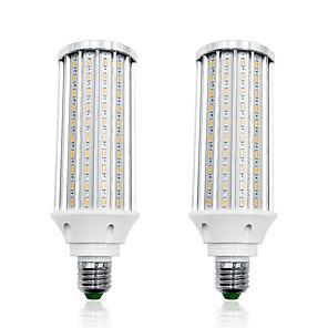 ieftine Proiectoare LED-LOENDE 2pcs 60 W Becuri LED Corn 6000 lm E26 / E27 T 160 LED-uri de margele SMD 5730 Alb Cald Alb 85-265 V