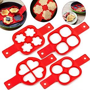 ieftine Ustensile Bucătărie & Gadget-uri-mucegai silicon fabricant clătite antiaderent instrument de gătit matrițe fabricant ouă aragaz pană flip bucătărie instrumente de coacere