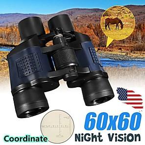 ieftine Microscop & Endoscop-Binocular 60x60 cu binoculare de vedere de noapte cu coordonate telescop de înaltă definiție cu film verde de înaltă definiție