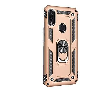 Недорогие Чехлы и кейсы для Xiaomi-Кейс для Назначение Xiaomi Xiaomi Redmi Note 7 / Xiaomi Redmi Note 7 Pro / Xiaomi Redmi 7 Защита от удара / со стендом / Кольца-держатели Кейс на заднюю панель броня ТПУ / ПК