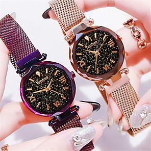 ieftine Cuarț ceasuri-Pentru femei Ceas de Mână Quartz Quartz Stil Oficial Stil Vintage Elegant Ceas Casual Analog Roz auriu Negru Albastru piscină / Un an / Oțel inoxidabil / Oțel inoxidabil / Un an