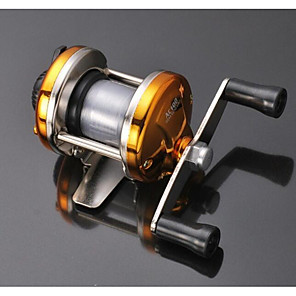 ieftine Stil Pescuit-Horgászorsók Mulinete 2.1:1 Raport Transmisie+1 Rulmenti Dreapta Handed Pescuit de Apă Dulce / Pescuit în General - Hand Wheel